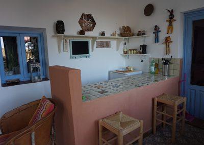 Keuken voor de gasten